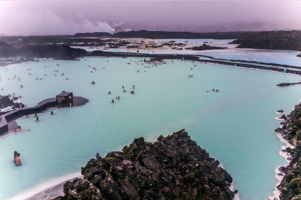 Blå lagunen Island