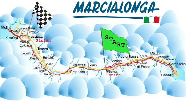 Marcialonga racetrack
