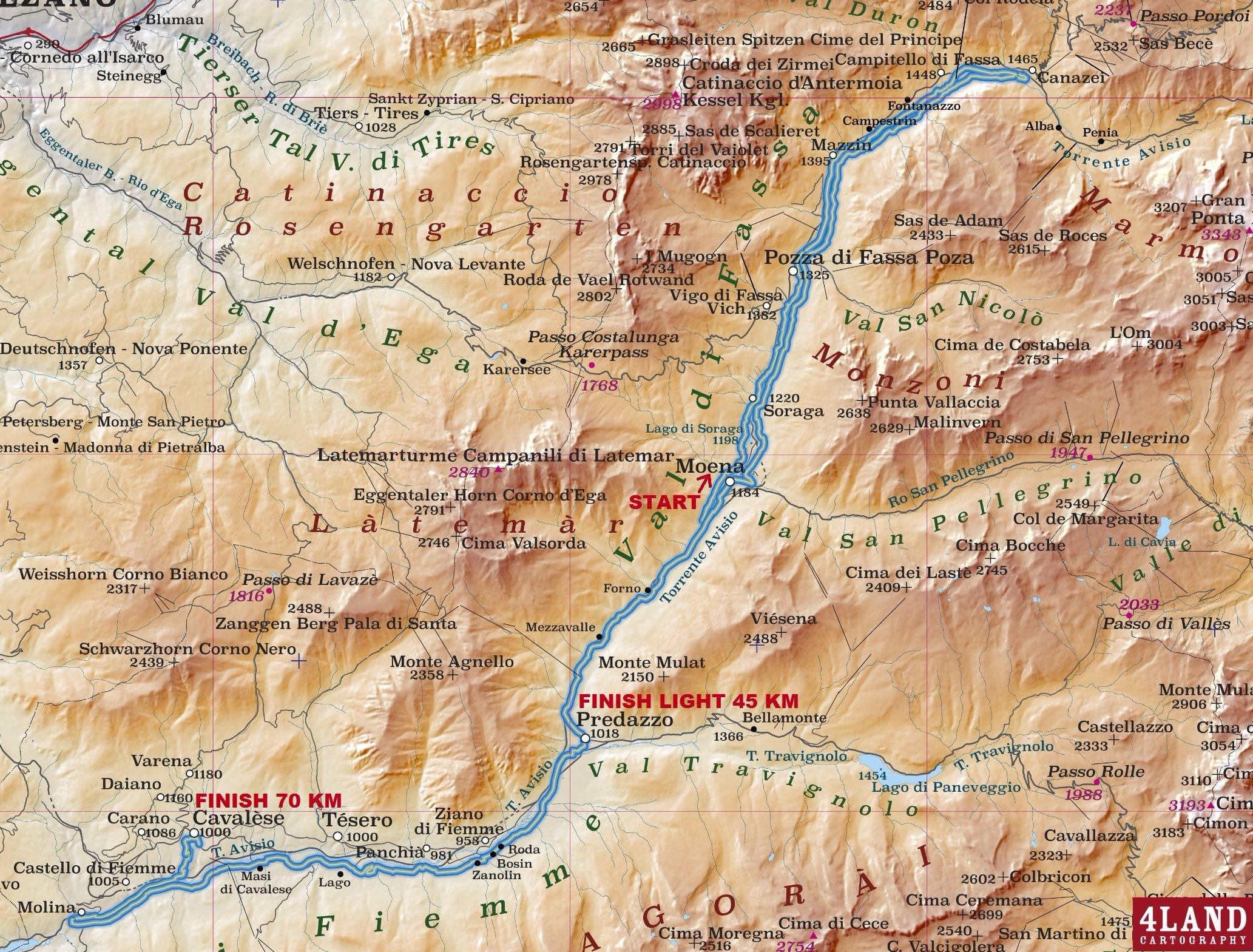 Marcialonga Map Race 70km